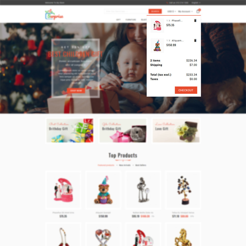 theme - Подарки, Цветы и праздничные товары - Surprise - Gift Store - 7