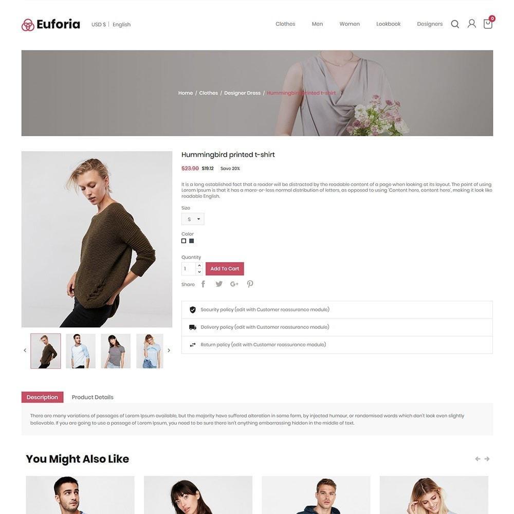 theme - Mode & Schoenen - Euforia Designer - Fashion Cloth Store - 5