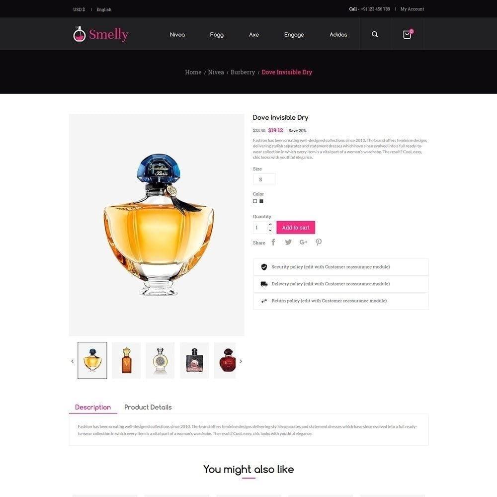 theme - Moda & Calçados - Smelly Perfume - Loja de Moda - 6