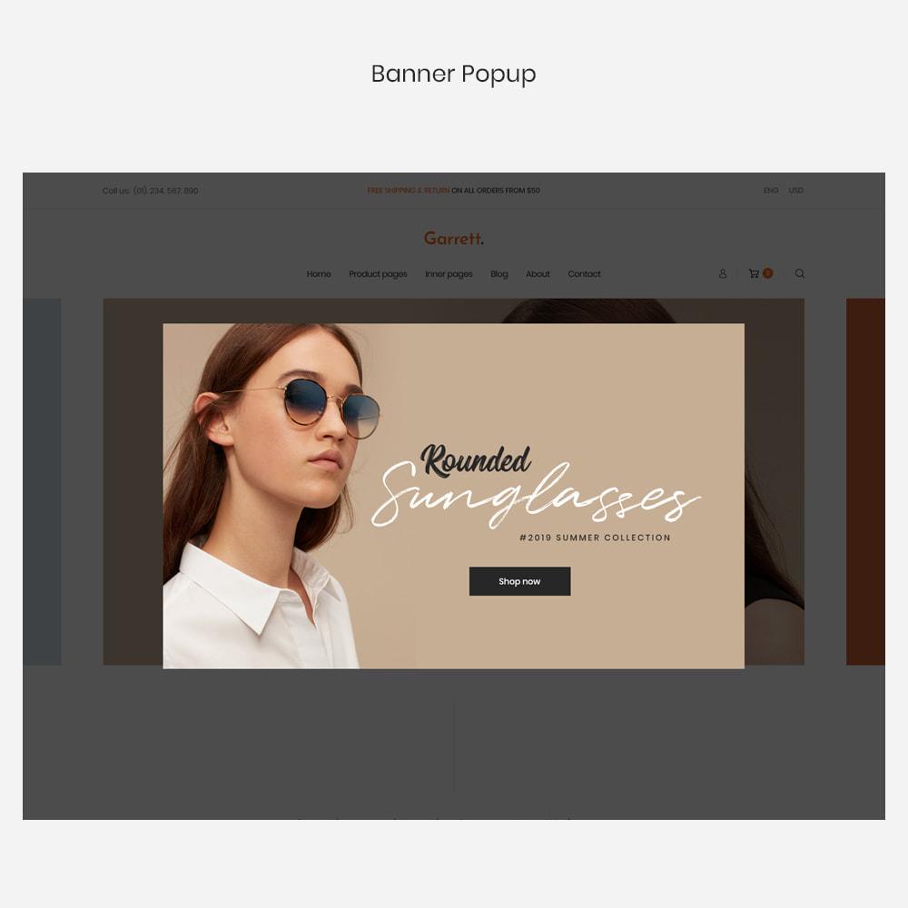 theme - Fashion & Shoes - Garrett - Glasses, Fashion & Accessories Store - 5