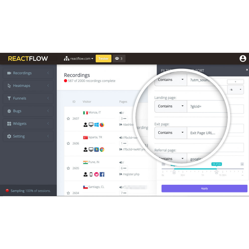 module - Статистика и анализ - Reactflow - 4