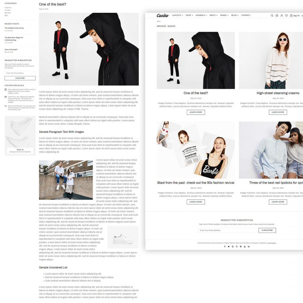 theme - Moda & Calzature - Casita - Unique Fashion Theme - 5