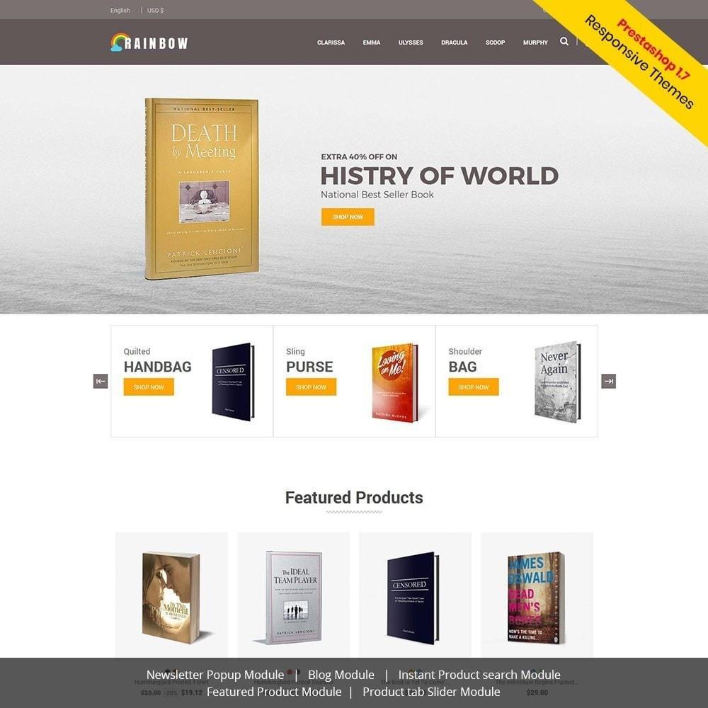 theme - Art & Culture - Rainbow Book - Ebook Store - 2