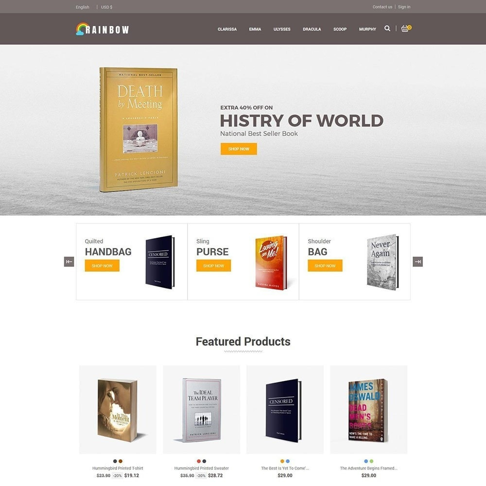 theme - Arte y Cultura - Rainbow Book - Tienda de libros electrónicos - 3