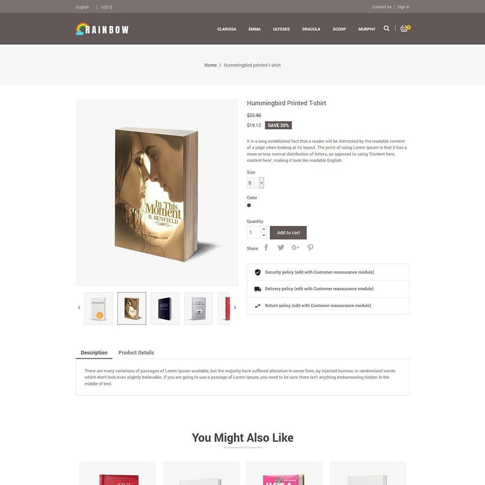 theme - Kunst & Cultuur - Rainbow Book - Ebook Store - 6