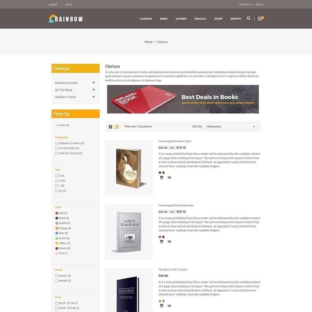 theme - Искусство и Культура - Rainbow Book - Магазин электронных книг - 5