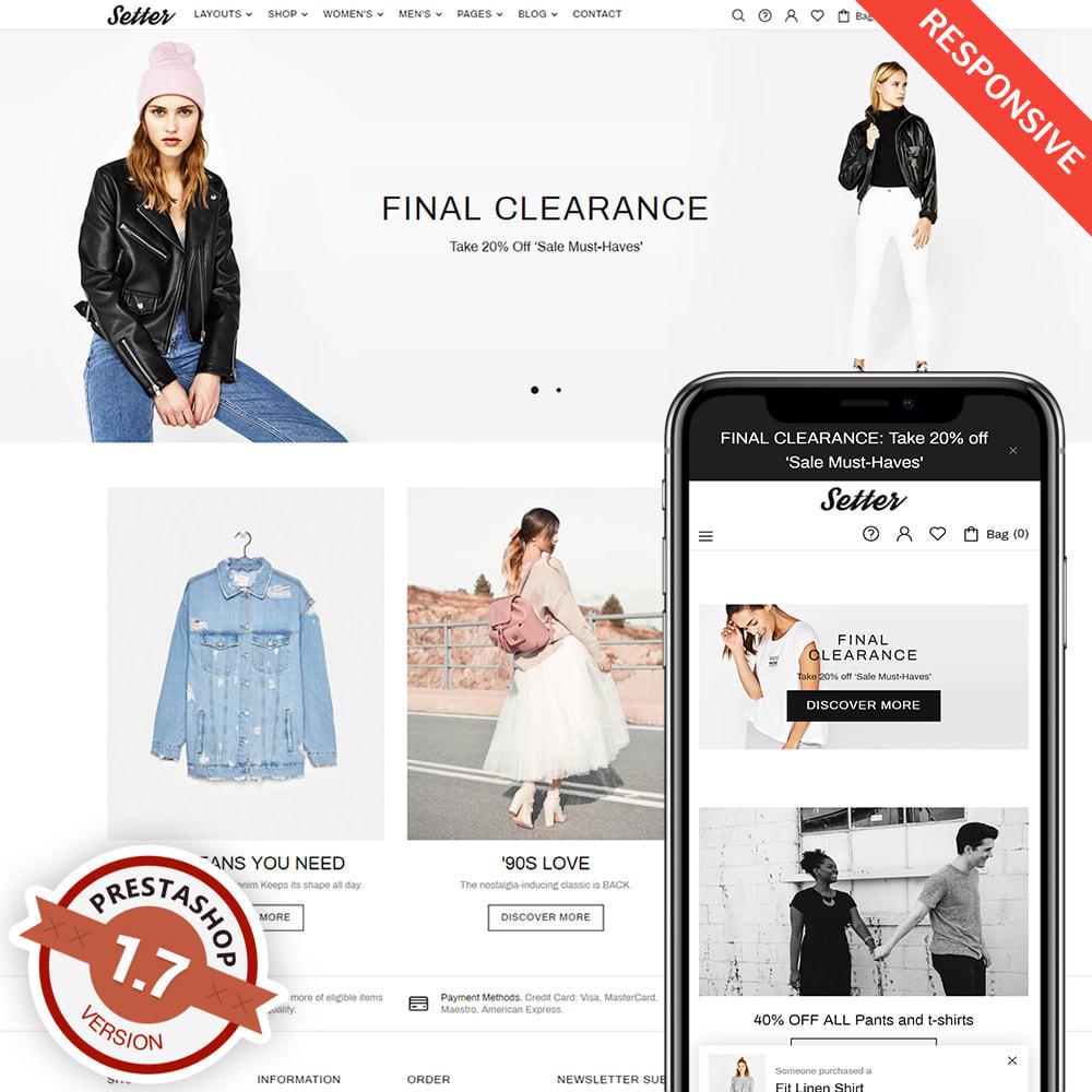 theme - Moda & Obuwie - Setter - Premium Fashion Theme - 1