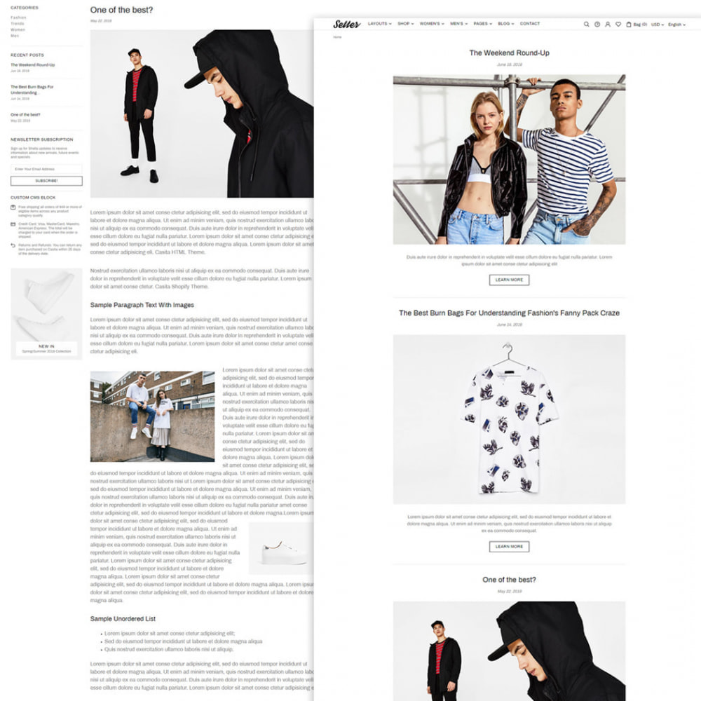theme - Moda & Obuwie - Setter - Premium Fashion Theme - 5