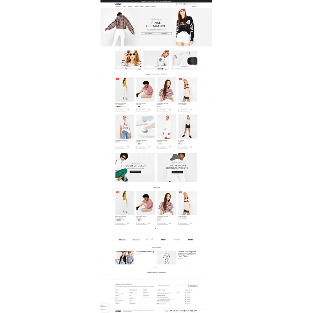 theme - Moda & Obuwie - Setter - Premium Fashion Theme - 6