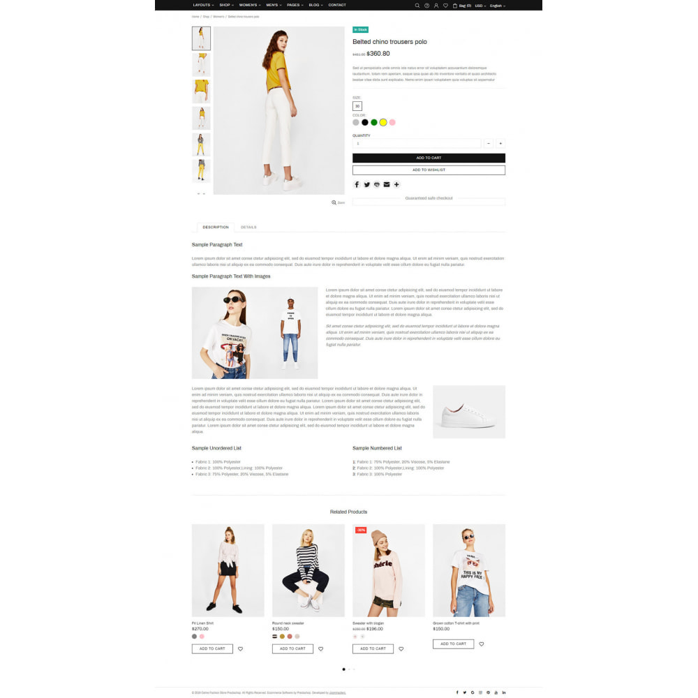 theme - Moda & Obuwie - Setter - Premium Fashion Theme - 12