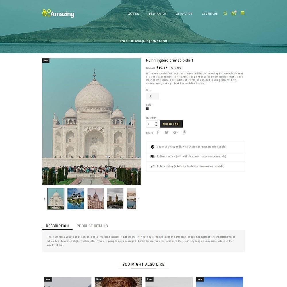 theme - Sport, Loisirs & Voyage - Amazing Travel - Magasin de billets de visites - 6