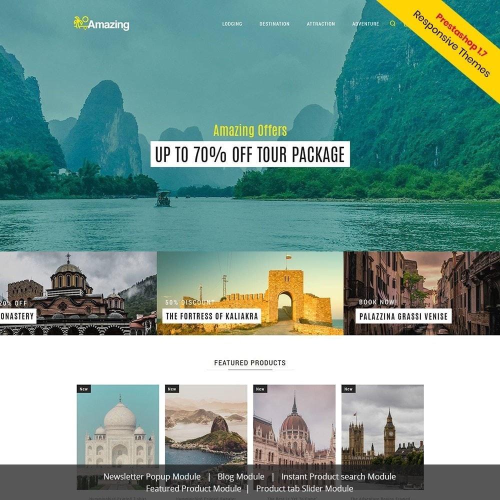 theme - Deportes, Actividades y Viajes - Amazing Travel - Tienda de boletos de Tours - 2