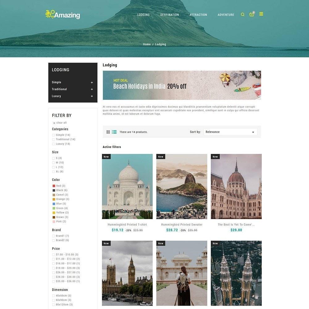 theme - Sport, Activiteiten & Reizen - Amazing Travel - Tours ticket Store - 4