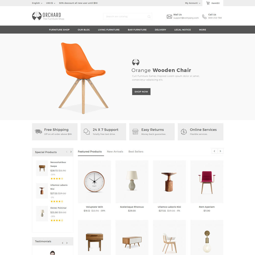 theme - Hogar y Jardín - Orchard - La tienda de madera multipropósito - 3