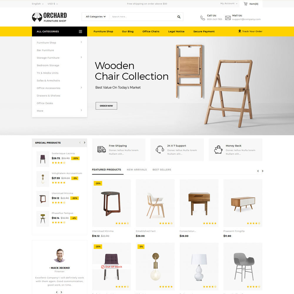 theme - Hogar y Jardín - Orchard - La tienda de madera multipropósito - 6