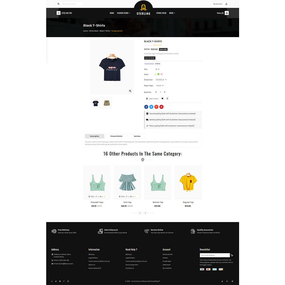 theme - Fashion & Shoes - Sterling Fashion Premium Store - 4