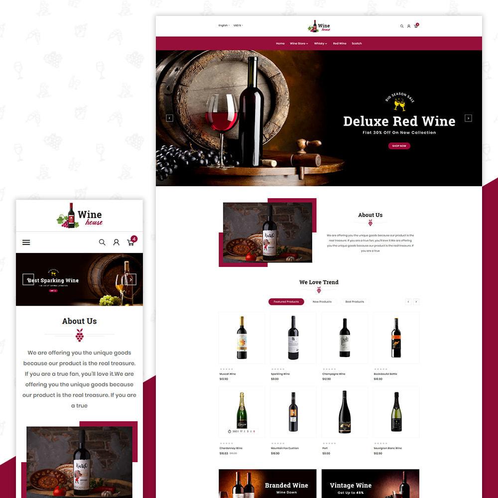 theme - Boissons & Tabac - Wine House – Wine Premium Store - 1