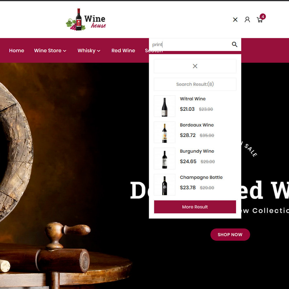 theme - Boissons & Tabac - Wine House – Wine Premium Store - 8