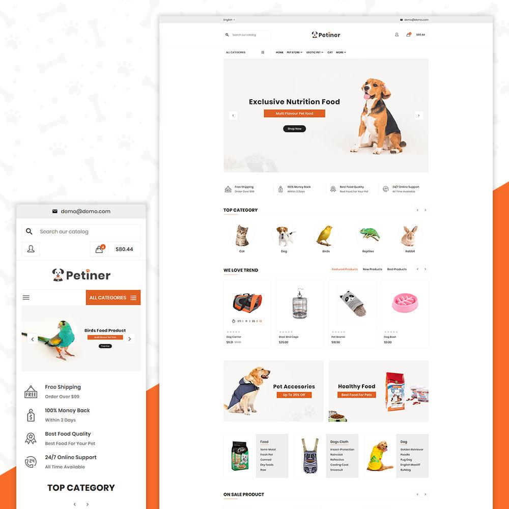 theme - Animales y Mascotas - Pets Shop – Special Animals Pets Store - 1