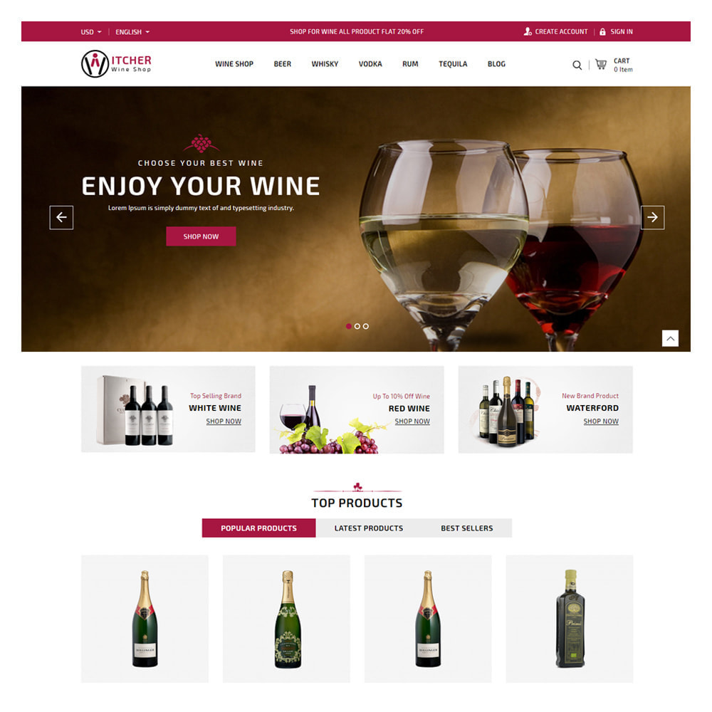 theme - Drink & Wine - Witcher Drink & Tobacco Store - 2