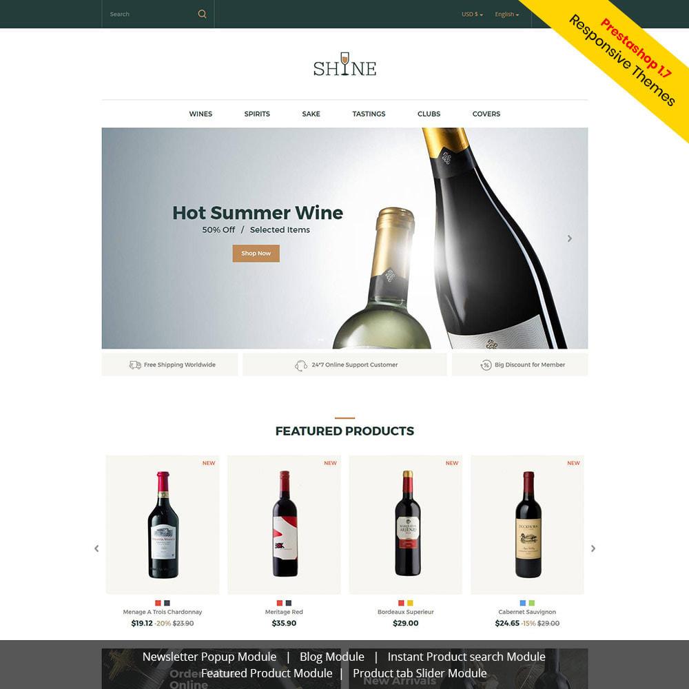 theme - Getränke & Tabak - Shine Wine - Alkoholgeschäft - 2