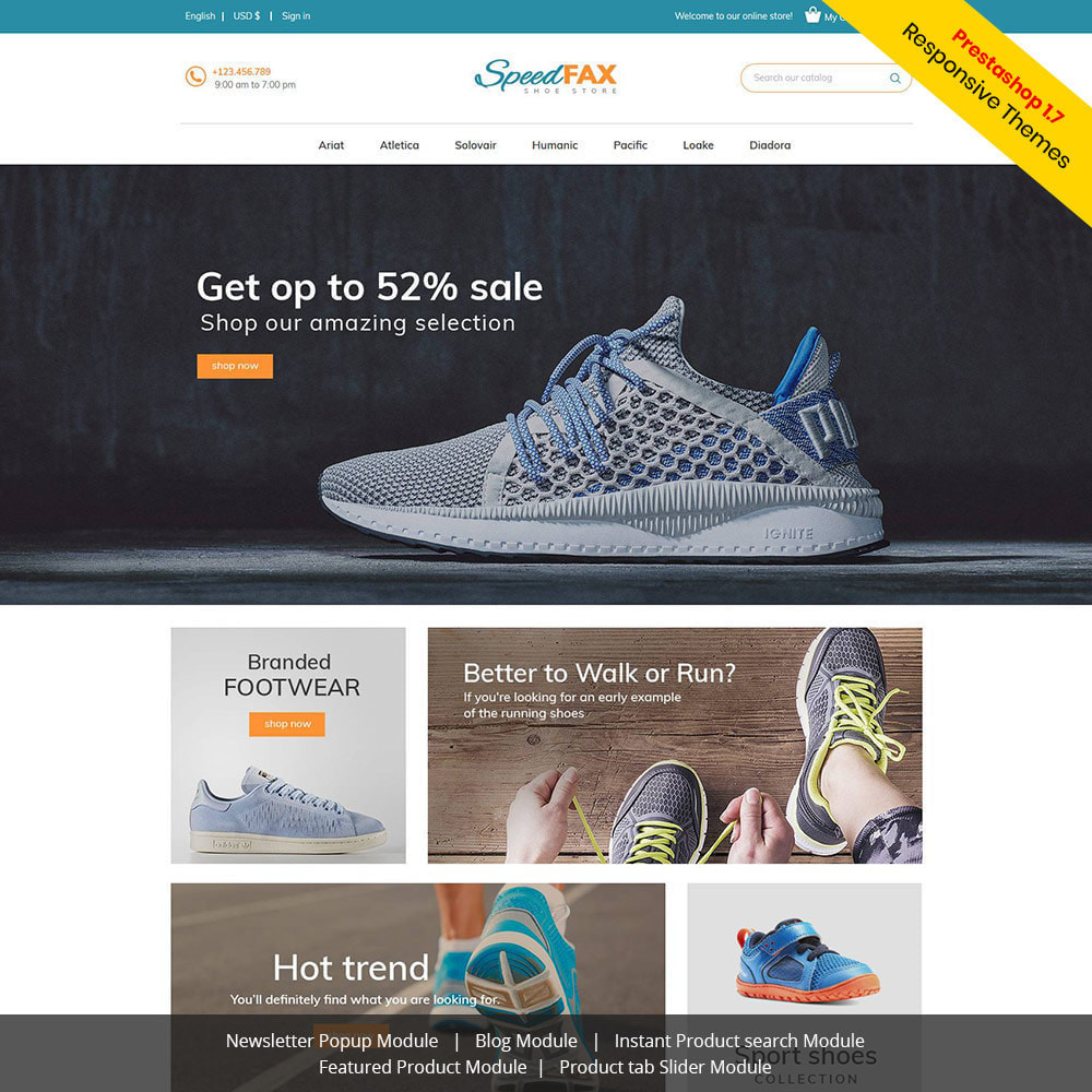 theme - Mode & Chaussures - Chaussures de fax rapide - Boot Store - 2