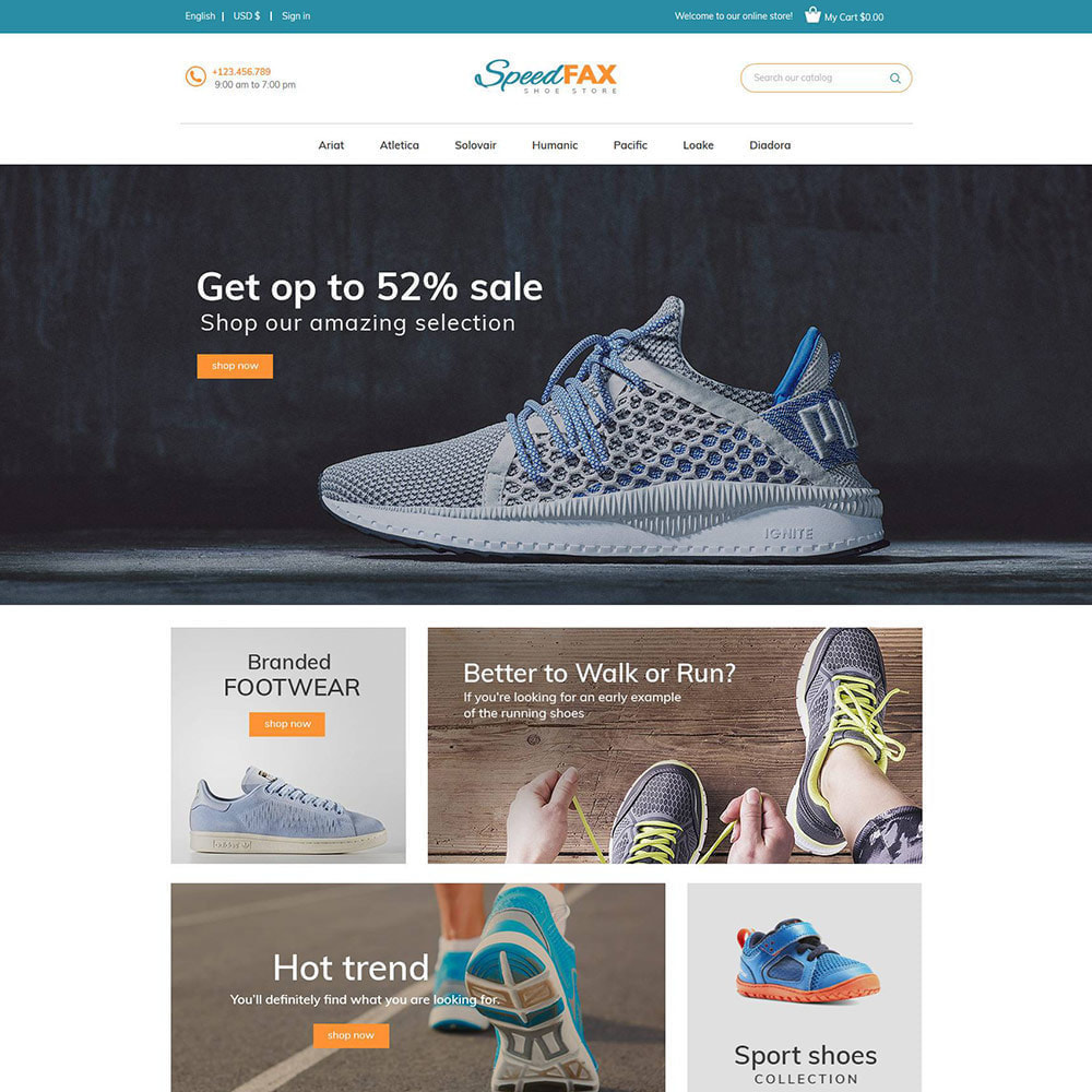 theme - Moda y Calzado - Zapatos Speed Fax - Tienda de arranque - 4