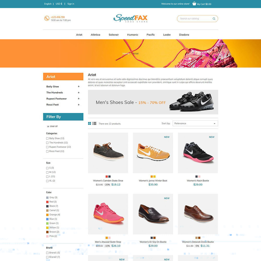 theme - Mode & Schoenen - Speed ​​Fax Shoes - Boot Store - 3