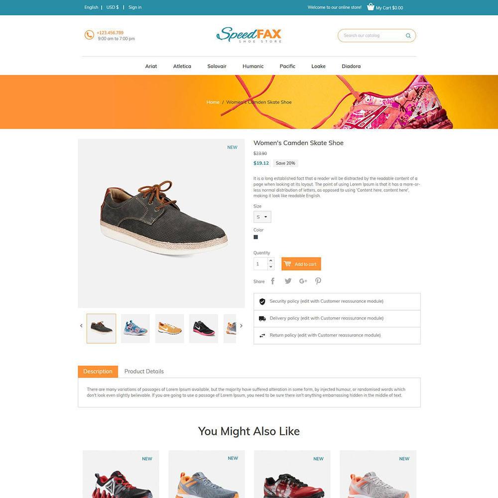 theme - Мода и обувь - Speed Fax Shoes - Загрузочный магазин - 6