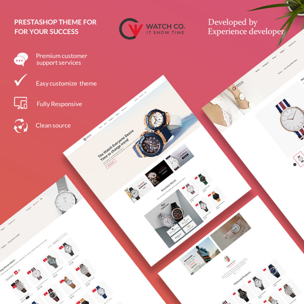 theme - Fashion & Shoes - Watchco - The Watch eCommerce Store - 1