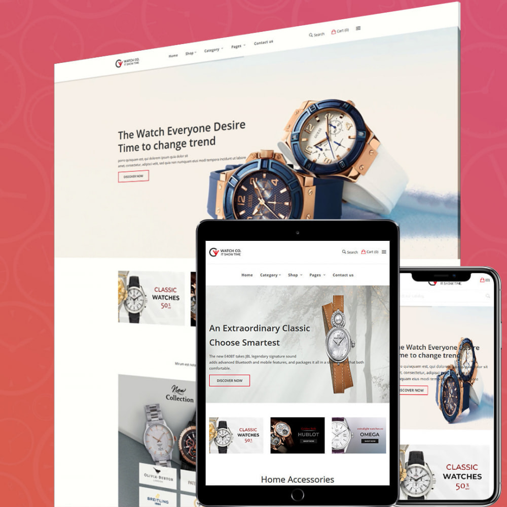 theme - Fashion & Shoes - Watchco - The Watch eCommerce Store - 2