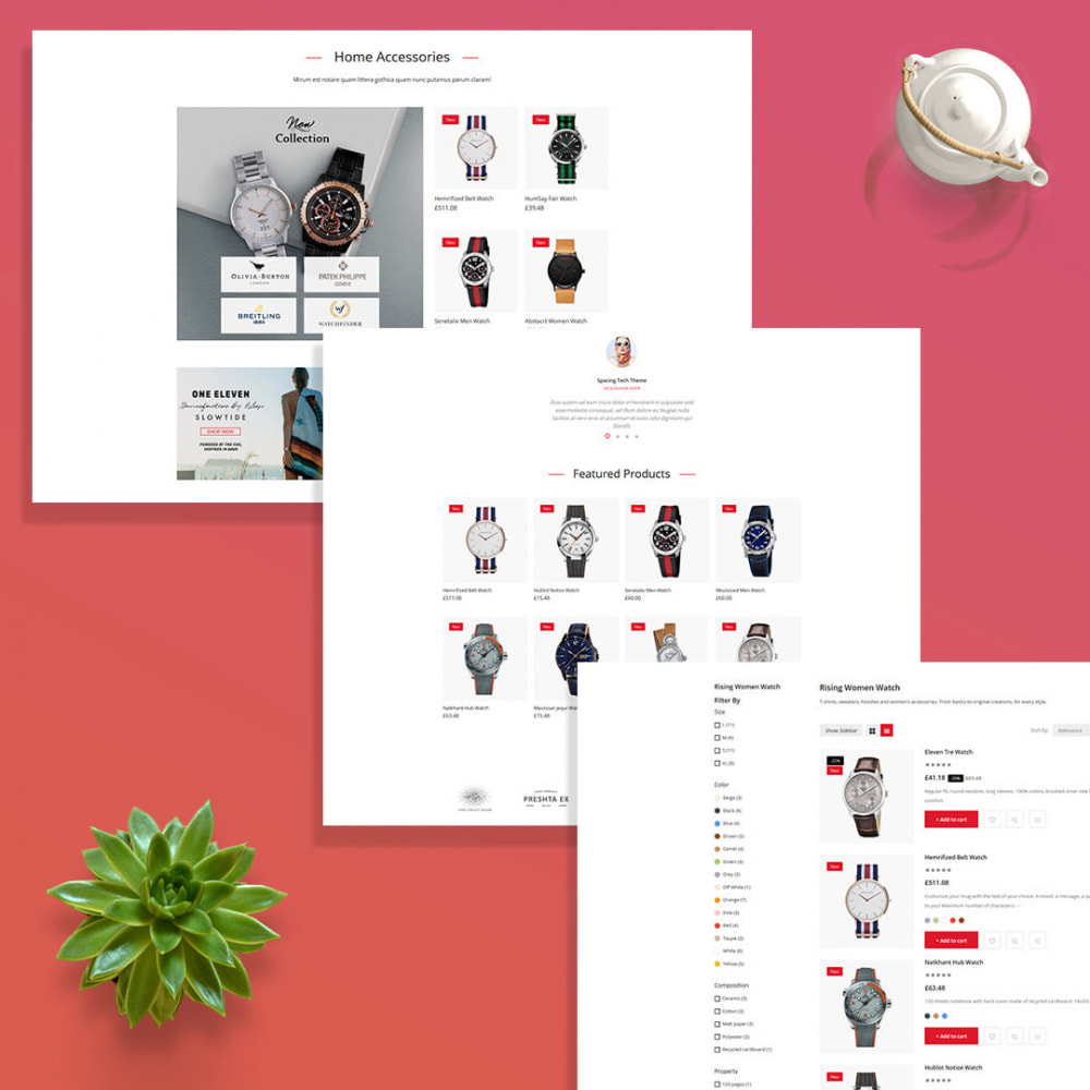 theme - Fashion & Shoes - Watchco - The Watch eCommerce Store - 4
