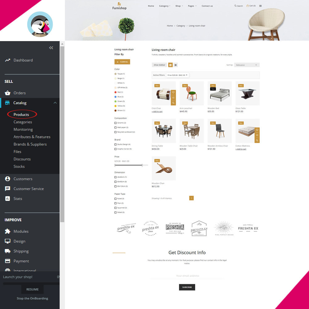 theme - Home & Garden - Furnishop - The Furniture eCommerce Store - 3