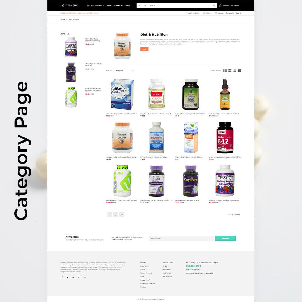 theme - Salud y Belleza - Vitameric - Medical Store - 5