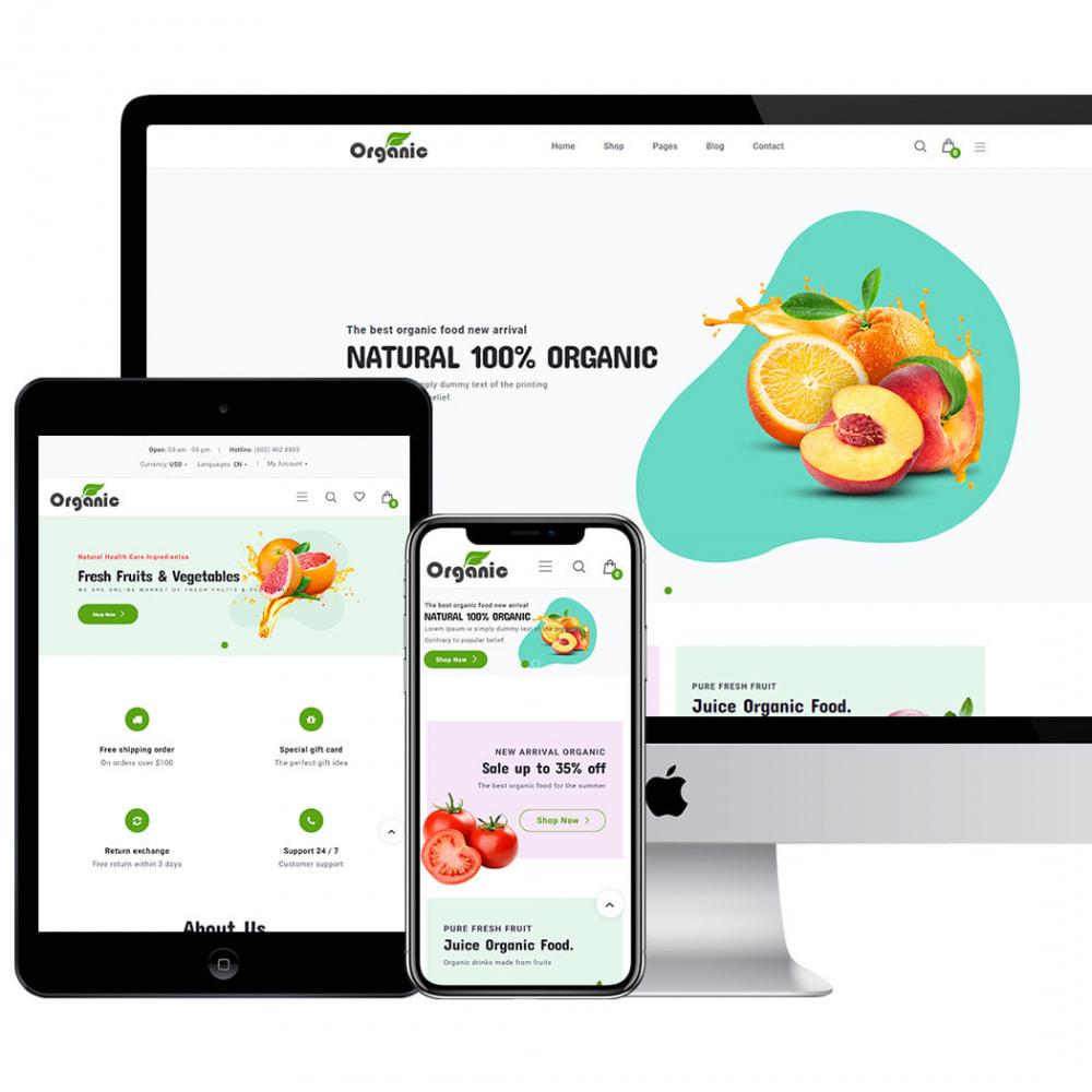 theme - Продовольствие и рестораны - Organic - 3