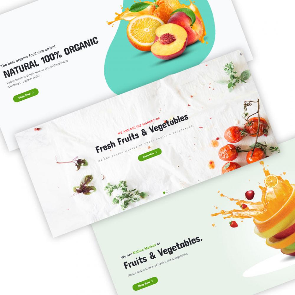 theme - Продовольствие и рестораны - Organic - 4