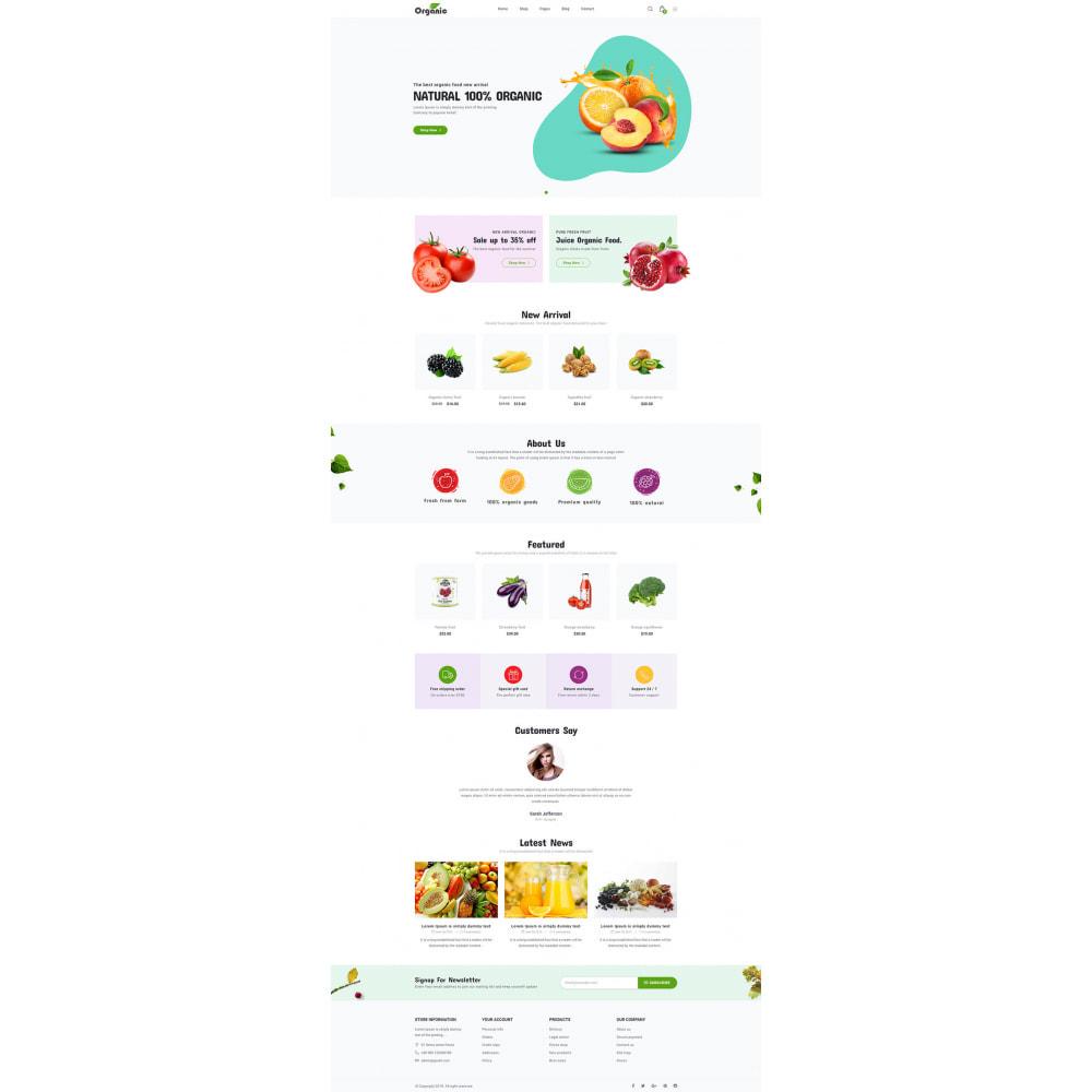 theme - Продовольствие и рестораны - Organic - 6