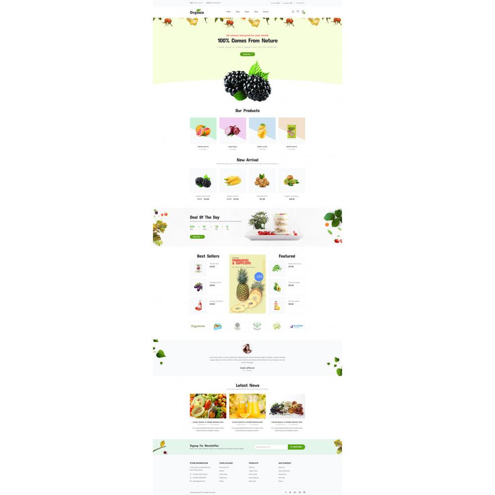 theme - Продовольствие и рестораны - Organic - 8