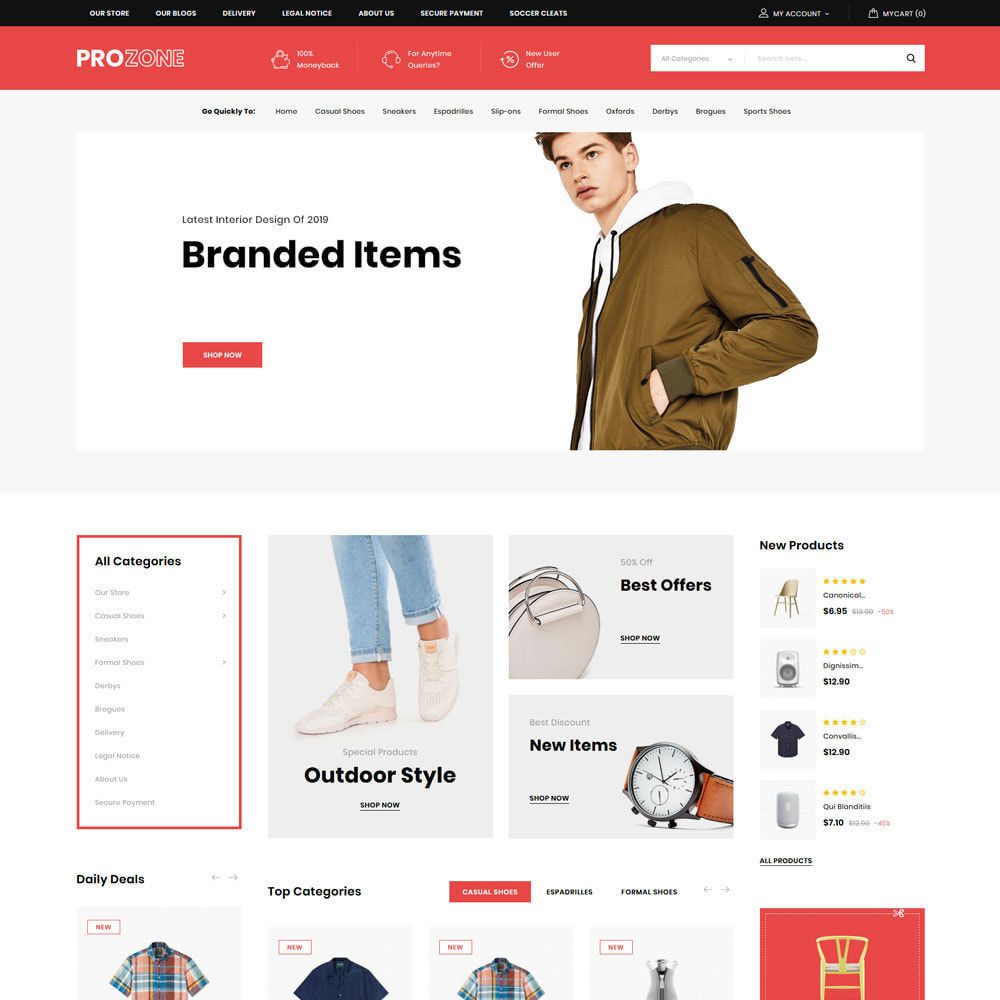 theme - Mode & Schuhe - Prozone - The Fashion Store - 4