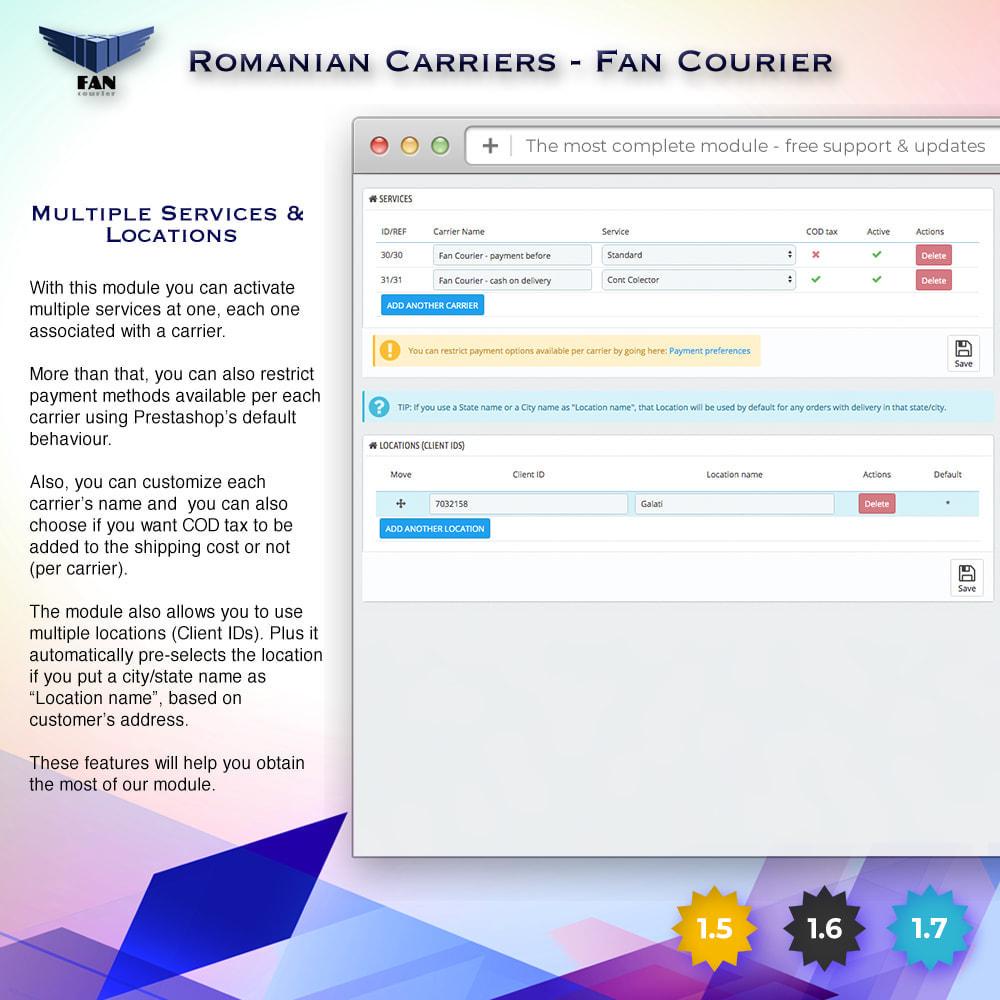 module - Shipping Carriers - Romanian Carriers - Fan Courier - 5
