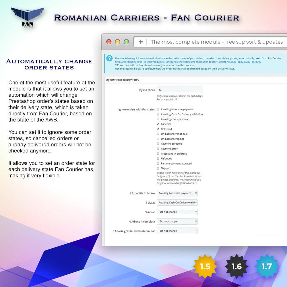 module - Shipping Carriers - Romanian Carriers - Fan Courier - 6