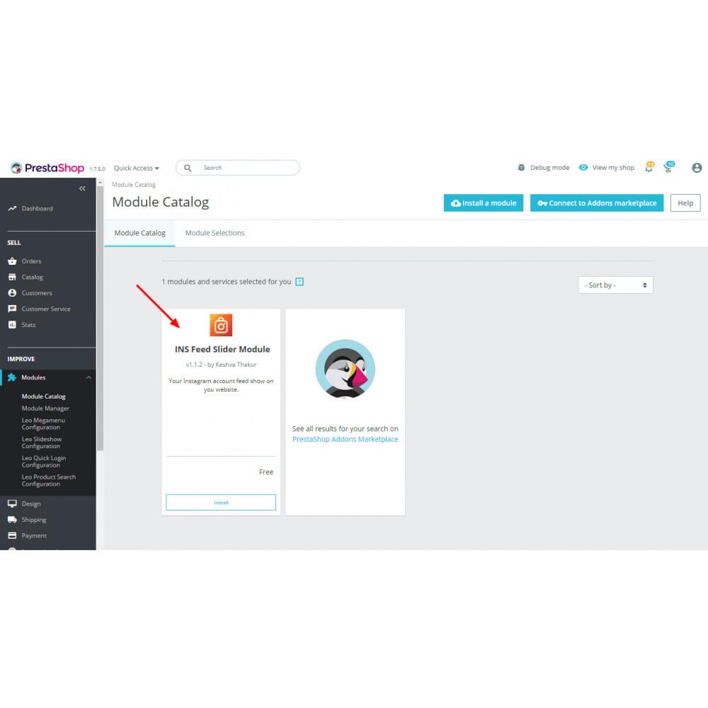 module - Sliders & Galleries - Instagram New API  Feed  -  Carousel - 1