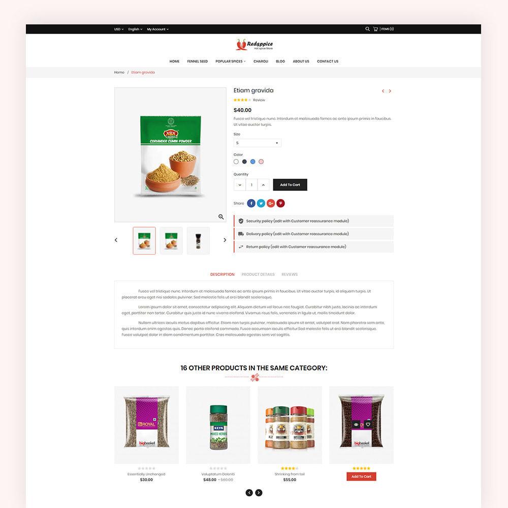 theme - Gastronomía y Restauración - Redsppice Spice Store - 7