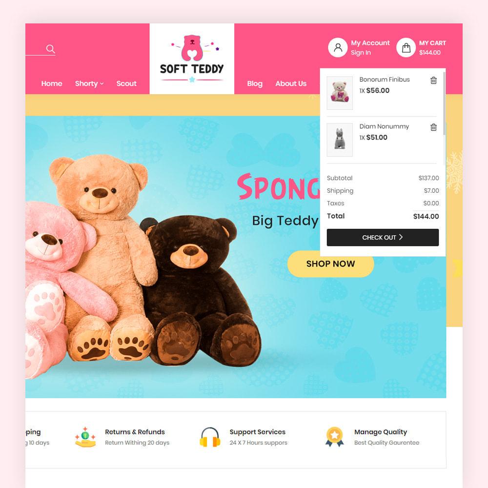 theme - Niños y Juguetes - Softteddy Teddy Shop - 4