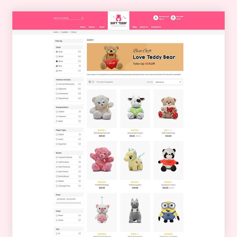 theme - Niños y Juguetes - Softteddy Teddy Shop - 5