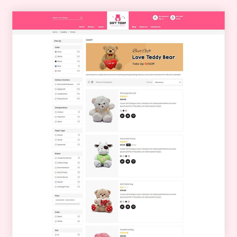 theme - Niños y Juguetes - Softteddy Teddy Shop - 6