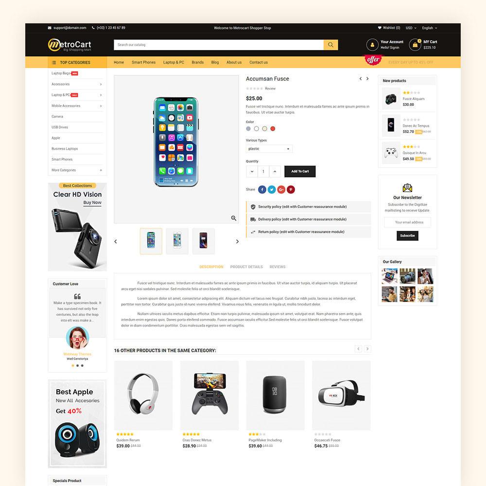 theme - Electronique & High Tech - Metrocart Mega Electronics Store - 8