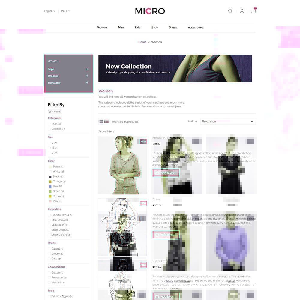 theme - Moda & Calçados - Roupas da Moda - Loja de Acessórios para Designer - 4