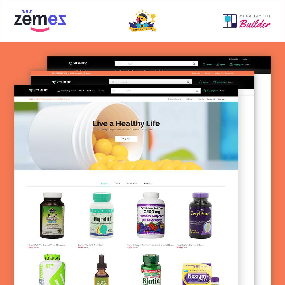 theme - Gezondheid & Schoonheid - Vitameric - Medical Store - 1