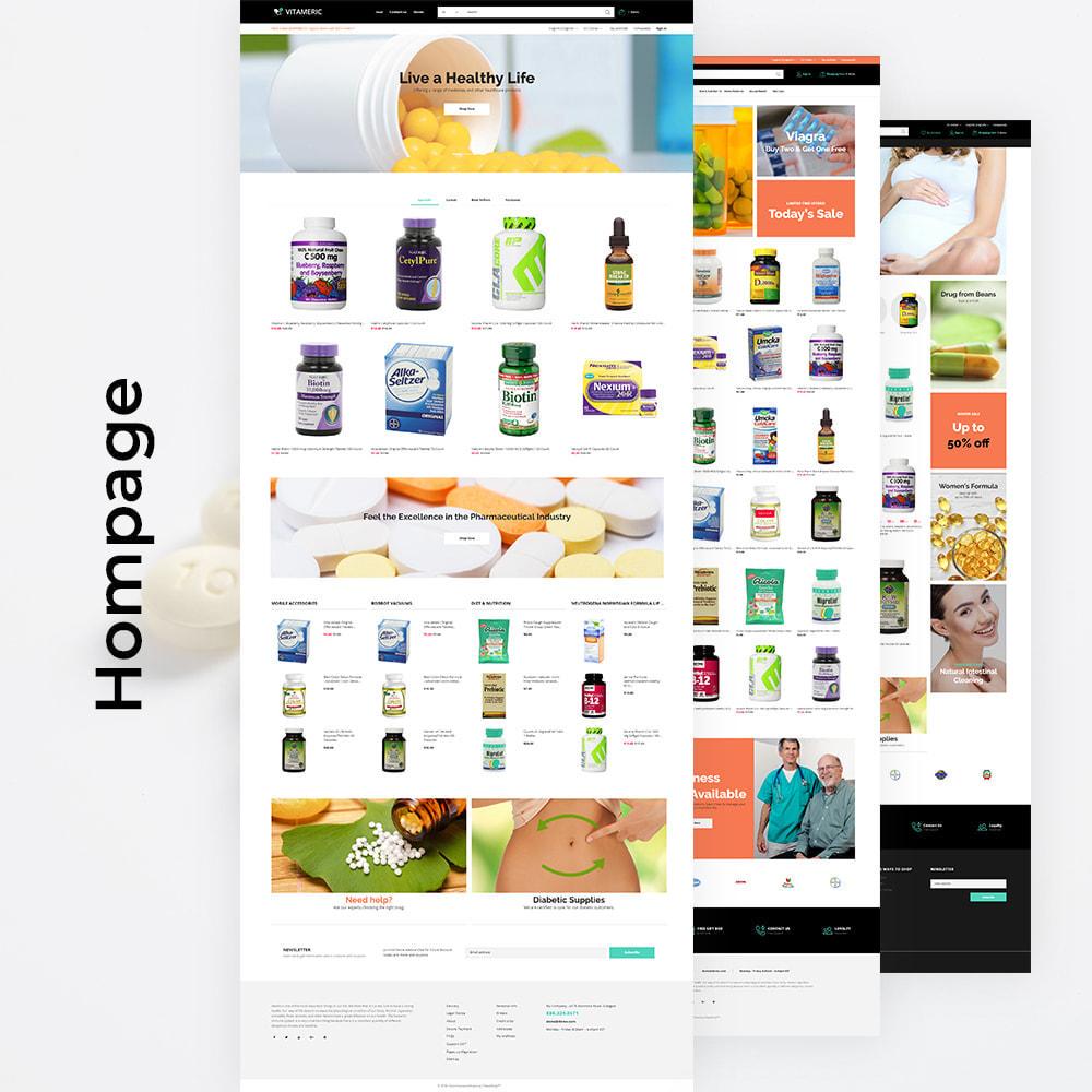 theme - Gezondheid & Schoonheid - Vitameric - Medical Store - 3